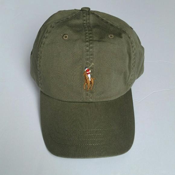 3abb35223 NEW Unisex Polo Ralph Lauren Hat Olive Green NWT